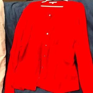 Christmas Red Cardigan